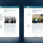 "La publication en ligne The Bahá'í World propose deux nouveaux articles, ""Reading Reality in Times of Crisis: 'Abdu'l-Bahá and the Great War"" et ""Paying Special Regard to Agriculture: Collective Action-Research in Africa"""