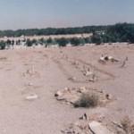 Le cimetière de Kharavan, au sud-est de Téhéran