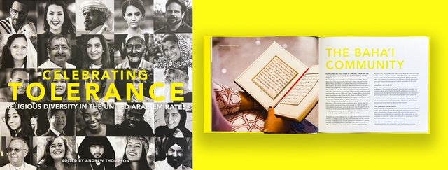 Le discours national sur la coexistence a pris une importance considérable ces dernières années, non seulement aux Émirats arabes unis, mais aussi dans toute la région arabe. Un livre officiellement sponsorisé, intitulé Celebrating Tolerance: Religious Diversity in the United Arab Emirates, a été publié en 2019 pour marquer « l'Année de la tolérance ». Ce recueil contient les expériences de diverses communautés religieuses aux Émirats arabes unis et leurs contributions à la coexistence pacifique dans la société émiratie.