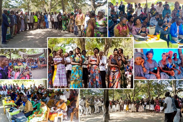 Rassemblements de personnes organisés conformément aux mesures de sécurité exigées par le gouvernement. L'appel de 'Abdu'l-Bahá pour la promotion de la femme inspire la conférence en RDC.