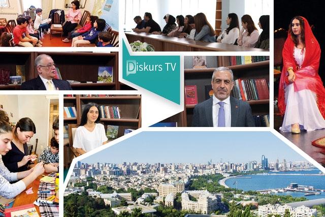 Le nouveau programme d'interviews, « Discourse TV », présente des conversations approfondies sur des sujets tels que l'égalité des femmes et des hommes et le rôle des médias dans la société. Ce programme s'inscrit dans le cadre des efforts du Bureau bahá'í des affaires extérieures d'Azerbaïdjan pour contribuer aux discours dominants du pays.