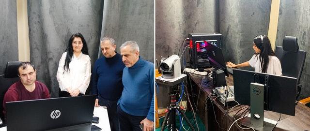 Un regard dans les coulisses de la production d'un récent épisode de « Discourse TV », une initiative du Bureau bahá'í des affaires extérieures d'Azerbaïdjan.