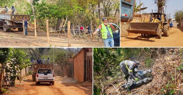 Inspirés par l'engagement des jeunes et des autres personnes qui s'étaient présentées pour soutenir l'initiative, les travailleurs municipaux ont étendu leurs efforts pour nettoyer la zone au-delà de la rivière à d'autres parties du quartier, ce qui a permis d'éliminer 12 tonnes de déchets.